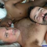 Maverick-Men-Black-Boy-Chris-Ryder-Gets-Barebacked-By-Hairy-Muscle-Daddies-Amateur-Gay-Porn-4-150x150 Maverick Men Bareback Tag Team & Double Penetrate A Black Twinks Ass