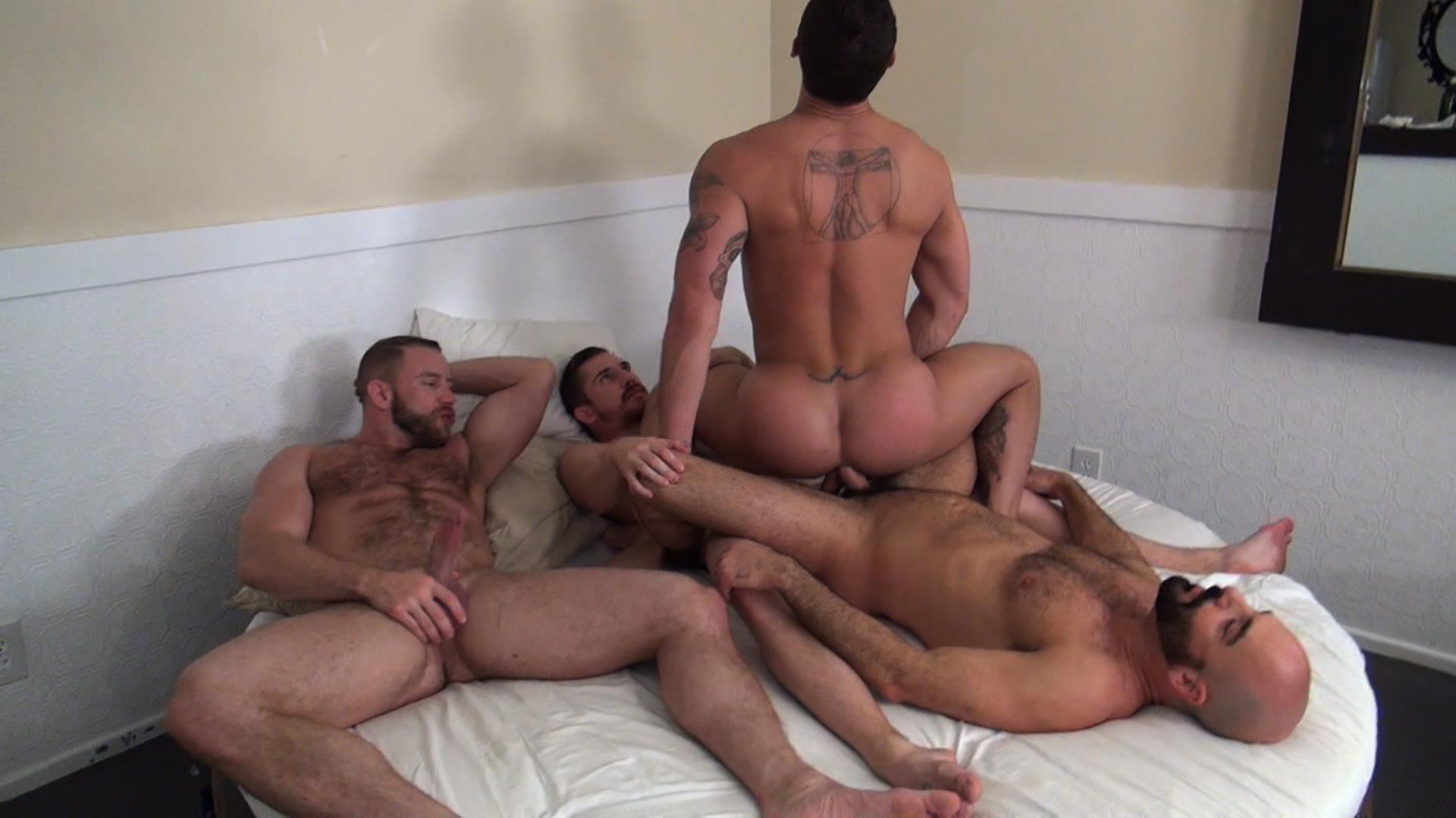 Raw-Fuck-Club-Dayton-OConnor-Tate-Ryder-Shay-Michaels-Adam-Russo-Bareback-Breeding-Amateur-Gay-Porn-1 Tate Ryder Gets Three Hairy Muscle Daddy Bareback Cocks