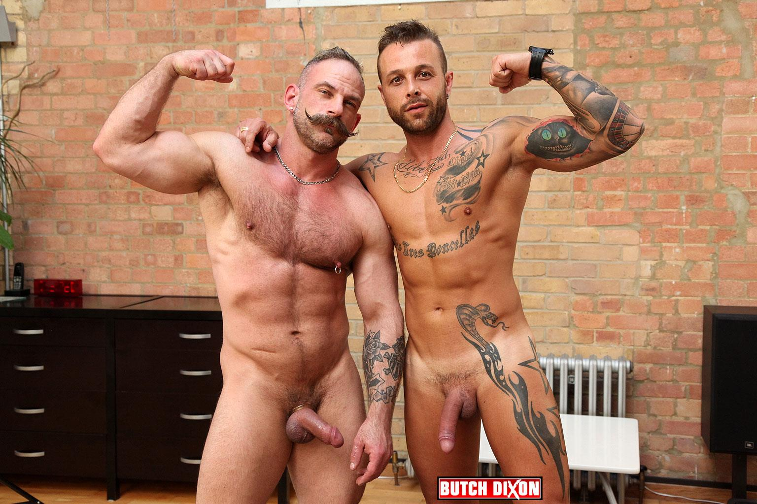 Butch-Dixon-Samuel-Colt-and-Frank-Valencia-Hairy-Muscle-Daddy-Getting-Fucked-By-Latino-Cock-Amateur-Gay-Porn-10 Happy Fathers Day: Hairy Muscle Daddy Samuel Colt Taking A Big Cock Up The Ass