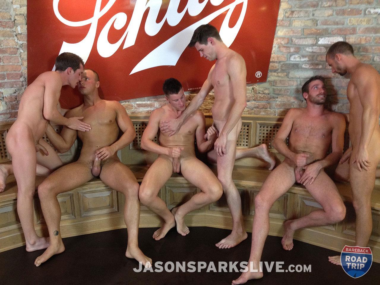 Jason-Sparks-Live-Dustin-Tyler-Shawn-Andrews-Brendon-Scott-Corbin-Riley-Antonio-Paul-Jake-Matthews-Bareback-Orgy-Amateur-Gay-Porn-13 Big Cock Amateur Bareback Orgy in Milwaukee