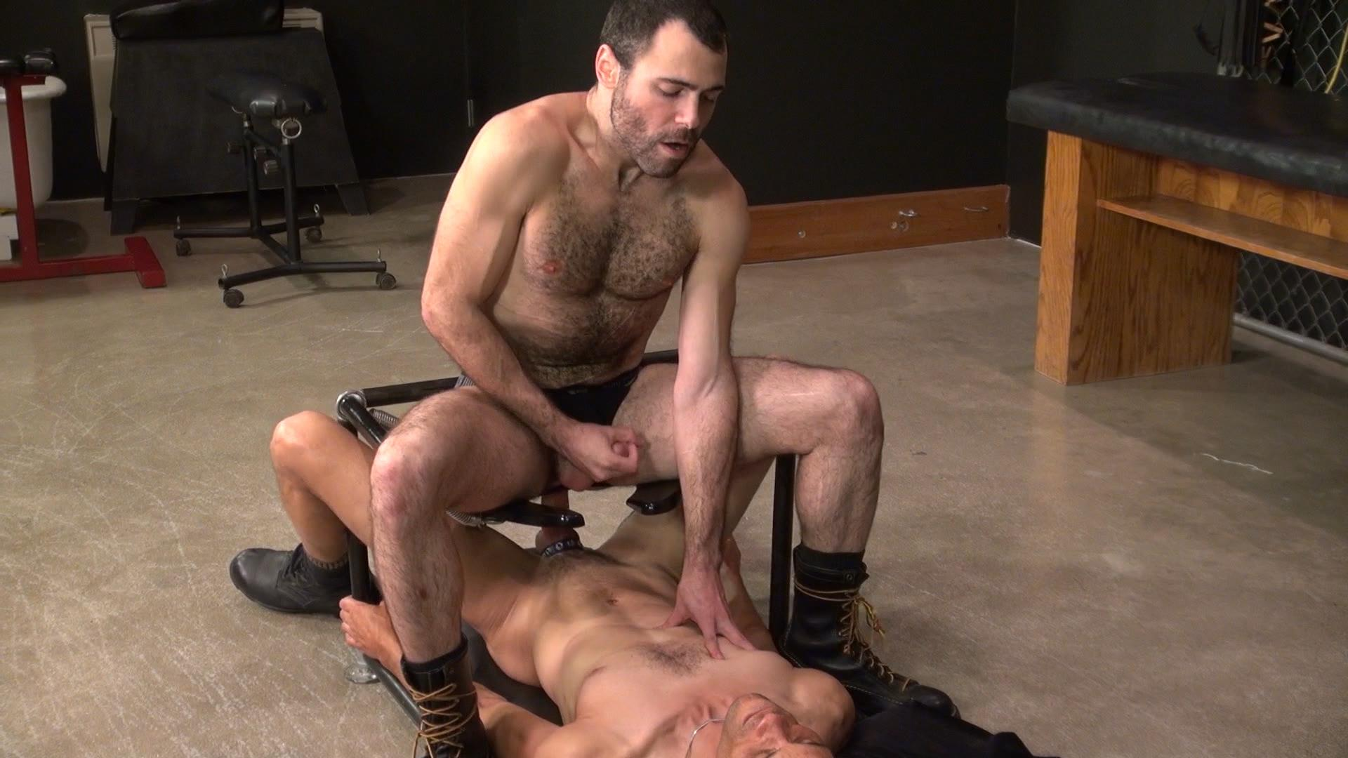 Raw and Rough Dusty Williams and Seth Patrick Barebacking A Stranger at A Sex Club Hairy Amateur Gay Porn 08 Barebacking A Hairy Guy At A Gay Sex Club