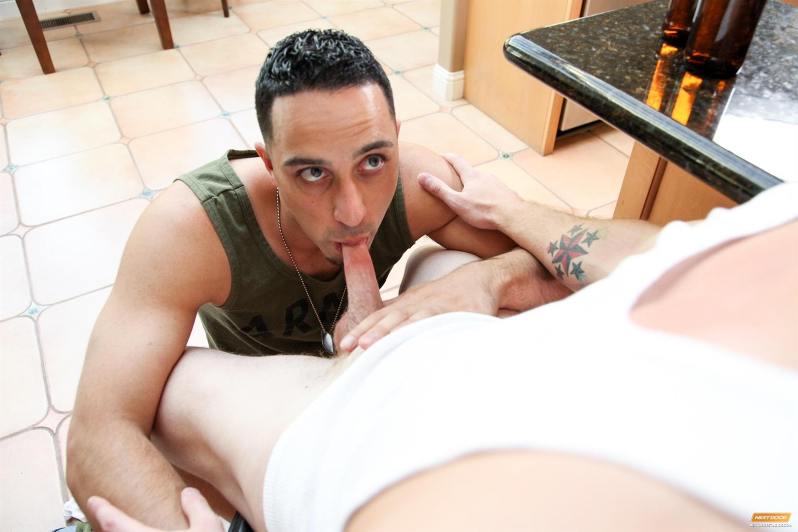 Next-Door-Buddy-Andrew-Fitch-and-Sean-Blue-Military-Army-Guy-With-A-Big-Cock-Fucking-Amateur-Gay-Porn-12 Hung Army Guy Returning From Duty Fucking His Buddy Hard