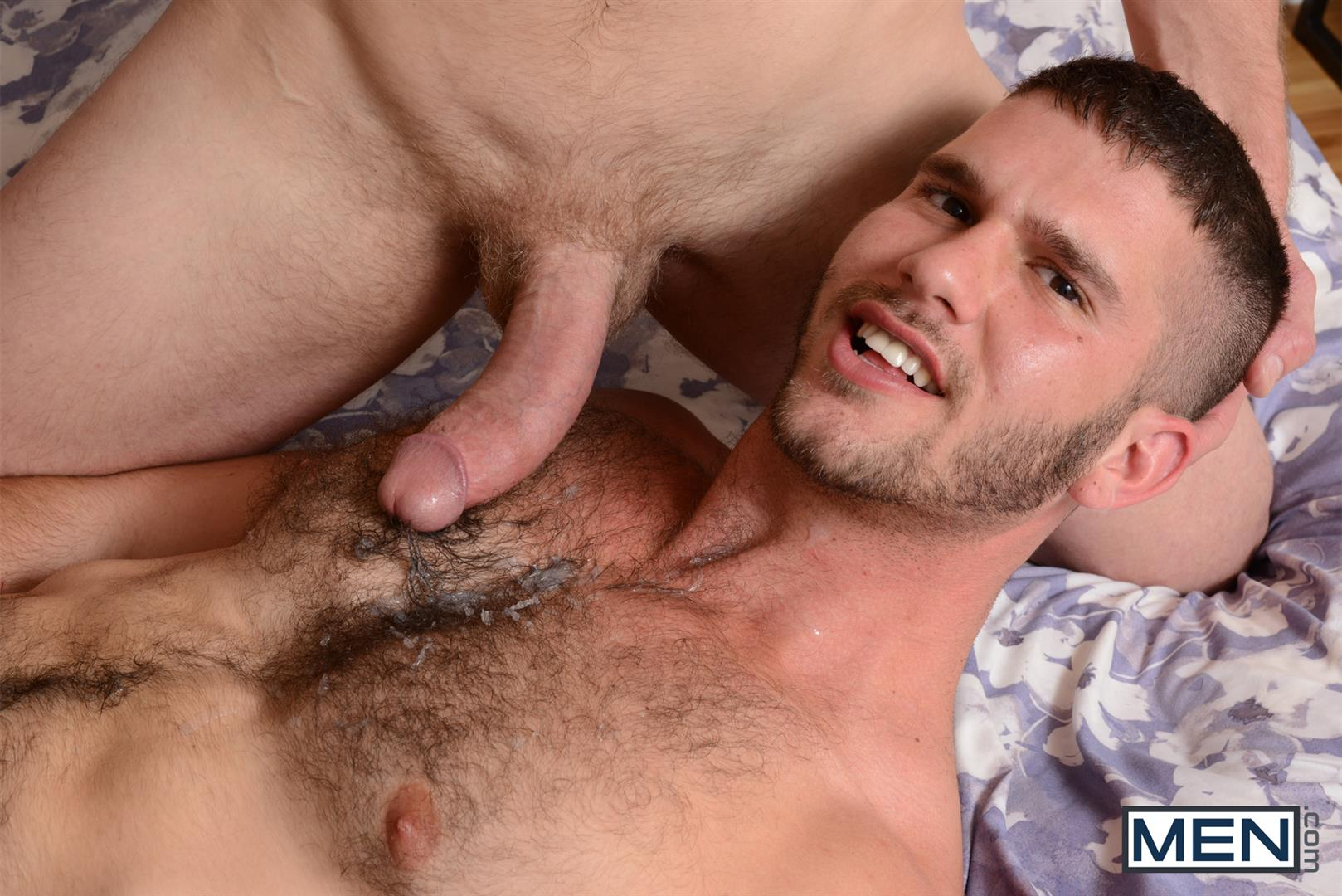 Jock gets his ass drilled with power toy