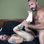 Dudes-Raw-Alessio-Romero-and-Nick-Cross-Hairy-Latino-Muscle-Daddy-Barebacking-Amateur-Gay-Porn-37-150x150 Hairy Muscle Daddy Alessio Romero Barebacking Nick Cross
