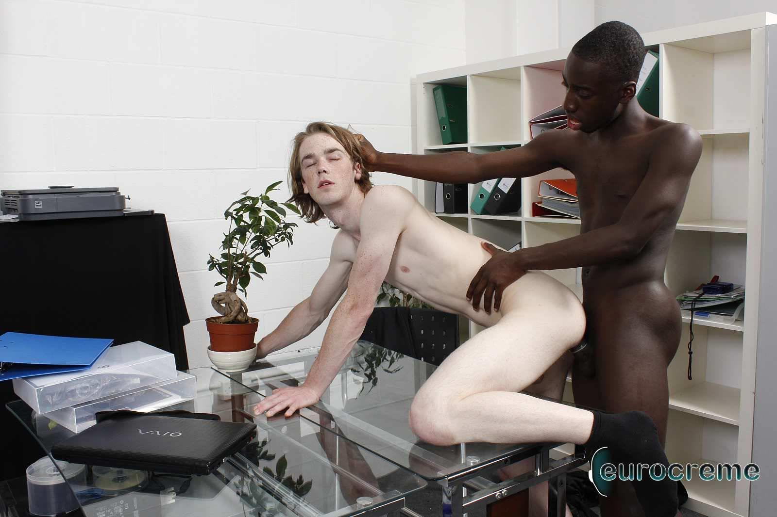 Eurocreme-Drew-and-Kai-Interracial-Gay-Sex-Video-Twinks-Amateur-Gay-Porn-15 Hung Black Twink Fucking a Ginger Bottom College Twink