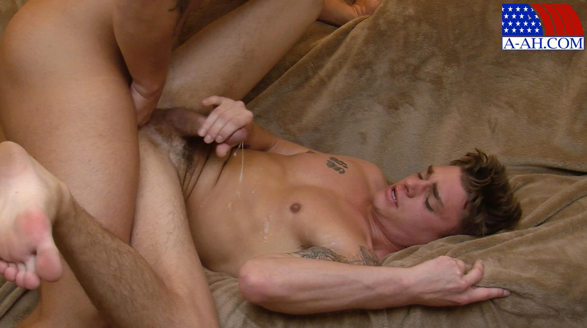 All-American-Heroes-Naked-Navy-Guy-Barebacking-a-Muscle-Twink-Amateur-Gay-Porn-14 Muscular Navy Corpsman Barebacking His Younger Workout Partner
