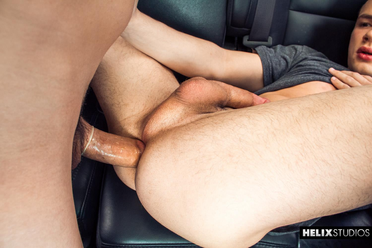 Helix Studios Troy Ryan and Logan Cross Big Cock Twinks Fucking In A Car Amateur Gay Porn 21 Troy Ryan Fucking Another Twink In The Backseat Of His Car