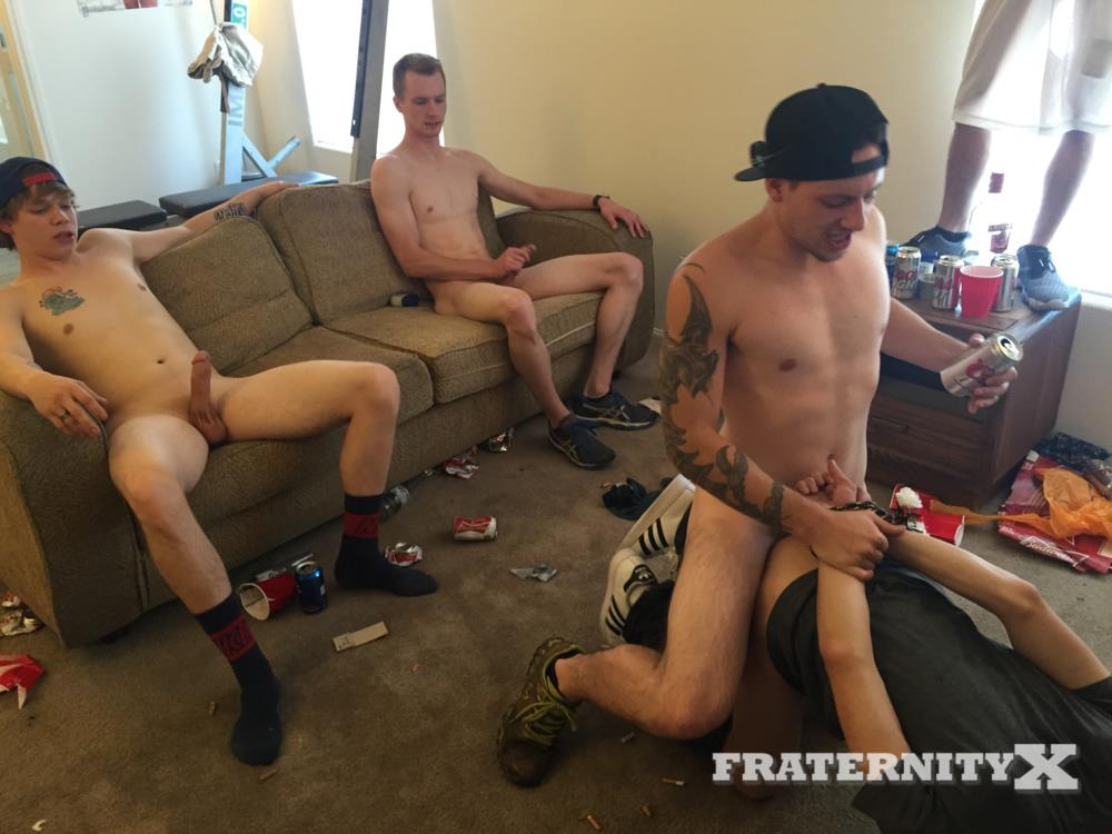 Fraternity-X-Naked-College-Jocks-Bareback-Sex-Party-Amateur-Gay-Porn-10 Fraternity Boys Bareback Gang Bang A Hot Freshman Ass