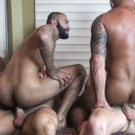 Raw-Fuck-Club-Vic-Rocco-and-Rikk-York-and-Billy-Warren-and-Job-Galt-Bareback-Daddy-Amateur-Gay-Porn-13-150x150 Four Hairy Muscle Daddies In A Bareback Fuck Fest Orgy