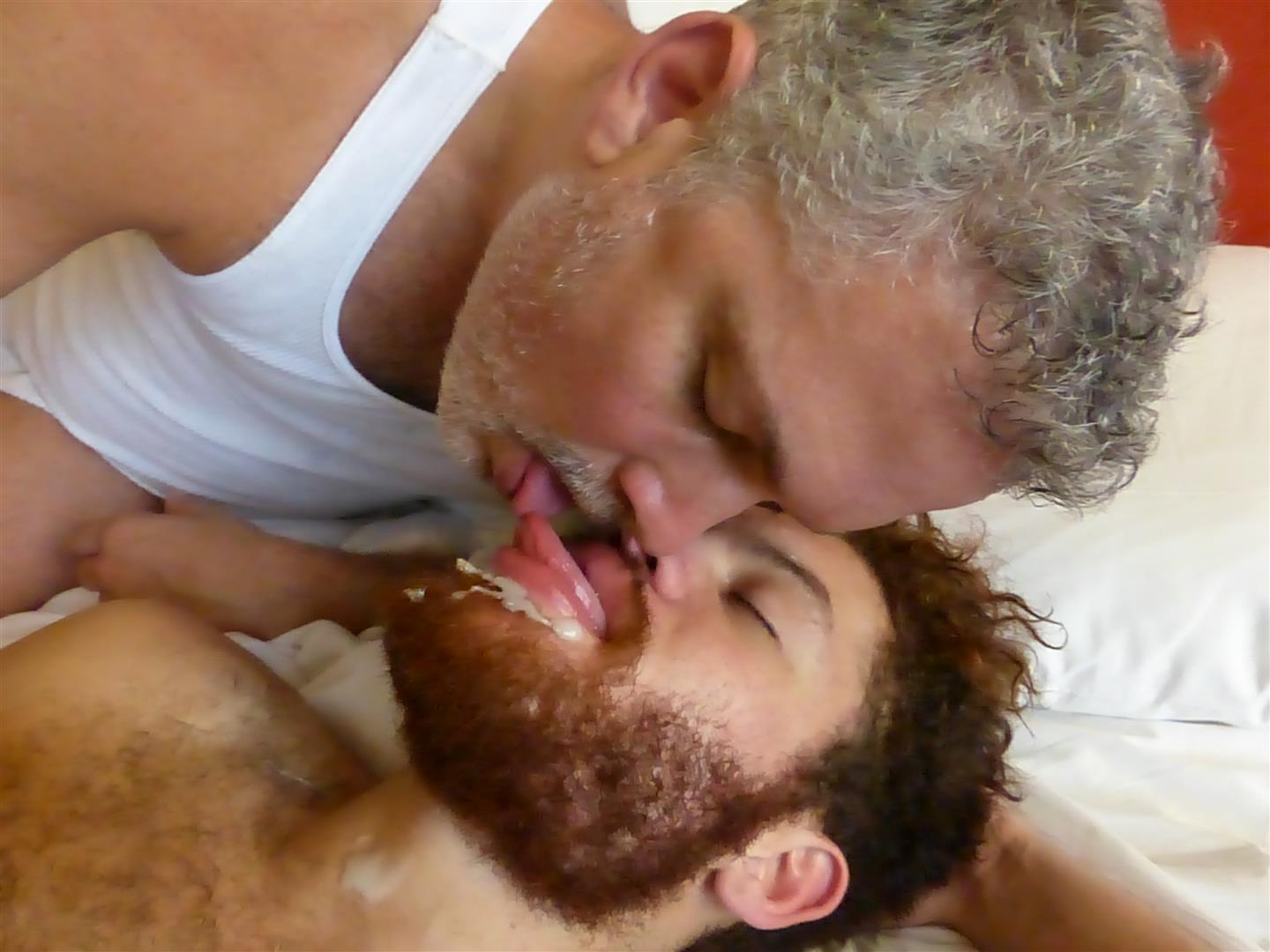 Maverick-Men-Adam-Hairy-Muscle-Cub-Barebacked-By-Two-Muscle-Daddies-Amateur-Gay-Porn-36 Young Hairy Muscle Cub With A Big Uncut Cock Takes Two Daddy Cocks