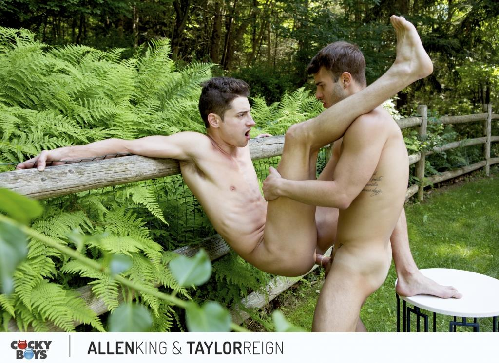CockyBoys Taylor Reign and Allen King Big Dick Fucking 08 Getting Fucked This Summer At Camp CockyBoys