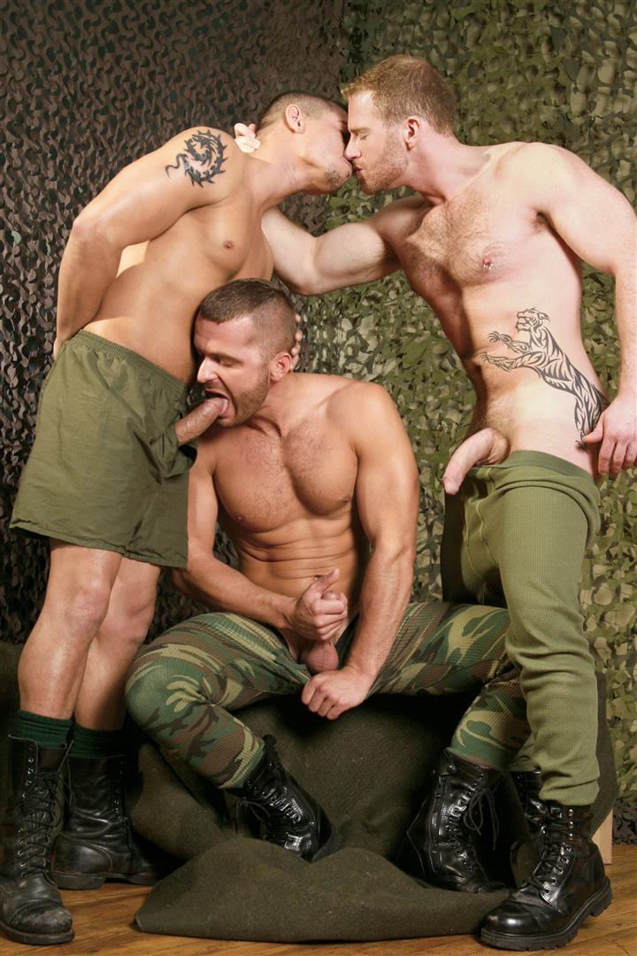 Titan-Men-Boot-Camp-Gay-Military-Sex-Naked-Soldiers-Fucking-32 Titan Men Releases Steamy Gay Military Sex Series:  Boot Camp