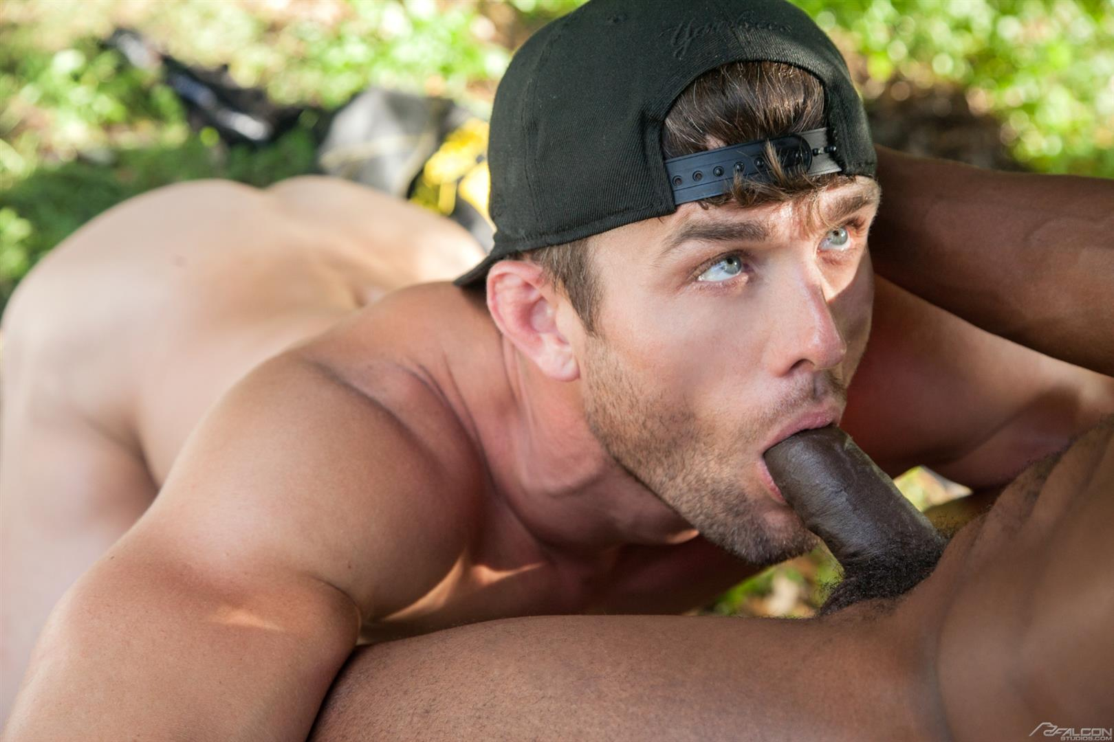 Falcon-Studios-Ryan-Rose-and-Pheonix-Fellington-Big-Dick-Interracial-Gay-Sex-Video-07 Ryan Rose and Pheonix Fellington Outdoor Grudge Fuck